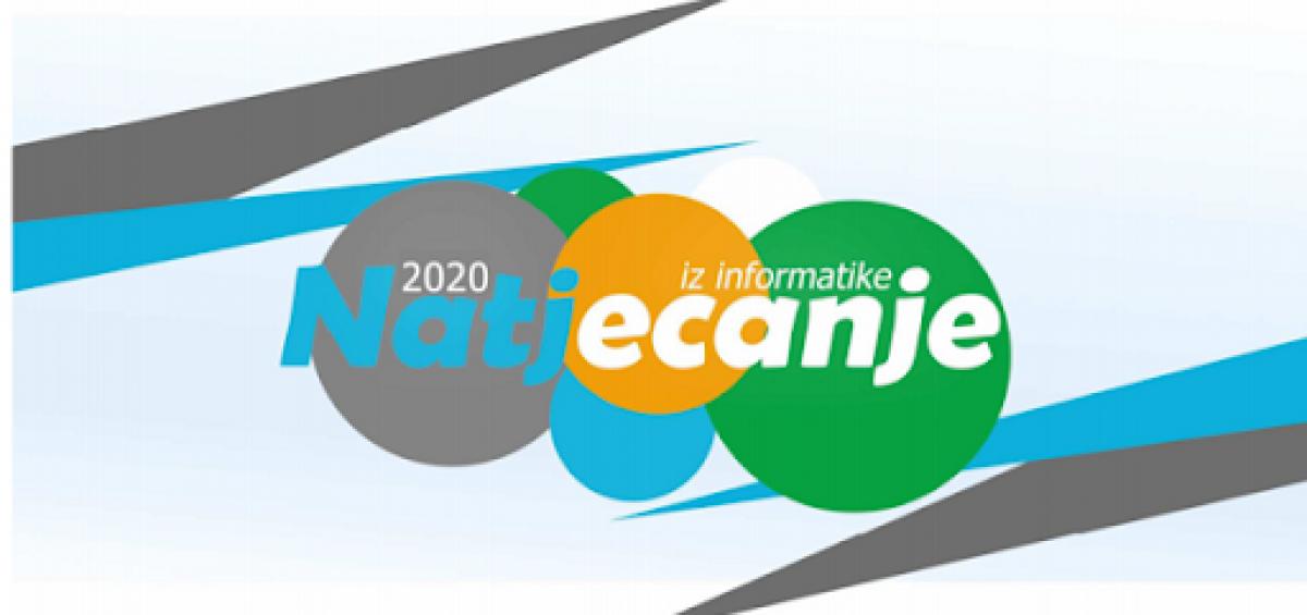 Državno natjecanje iz informatike 2020.